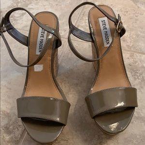 Steve madden wedge platform shoes